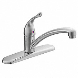 Kitchen Faucet, 1 Handle, Lever, Chrome
