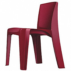 Stackable Chair, Plum