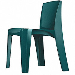 Stackable Chair, Teal