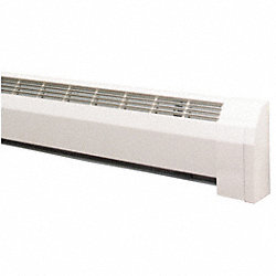 Architectural Closed Loop Heater, White