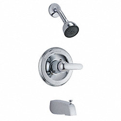 Tub/Shower, Trim, Lever Handle, Chrome