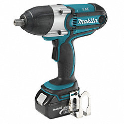 Cordless Impact Wrench Kit, 10-1/2 In. L