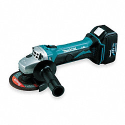 Cordless Cutoff/Grinder Kit, 18V, 4-1/2 In