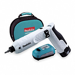 Cordless Impact Driver Kit, 7.2V, 1/4 In.