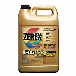 Antifreeze, G05, 1 Gal, Yellow