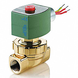 Solenoid Valve, Steam/Hot Water, 3/4 In