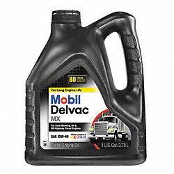 Diesel Engine Oil, 1 Gal, SAE Grade 15W-40