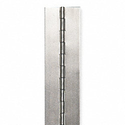 Continuous, Hinge, Steel, 1-1/2 Inx4ft