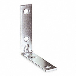 Corner Brace, Steel, 3/4 Wx3 1/2 In L
