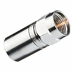 Compression Connector, RG6 RTQ, PK50