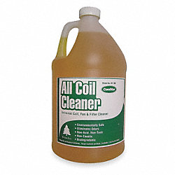 Universal Coil Cleaner, 1 Gal, Yellow