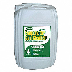 Evaporator Cleaner, 5 Gal, Green
