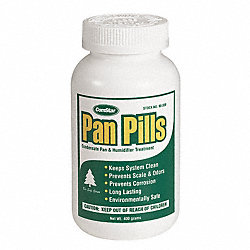 Condensate Pan Cleaner, 100 Tablets