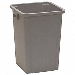 Square Container, Gray, 19 G