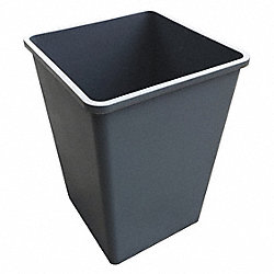 Square Container, Gray, 35 G