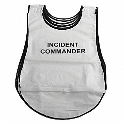 Hospital Incident Command Vests, 28 In. L