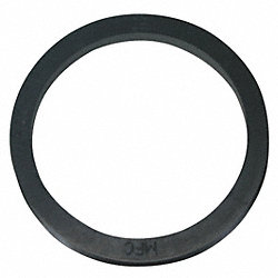 V-Ring Seal, Stretch, Blk, 49mm ID