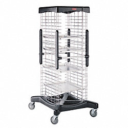 Extended Base Rack, 37x31x69 5/8, Black