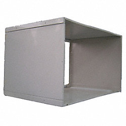 Wall Sleeve, 15-5/8 x 25-3/8 x 17-9/16 In