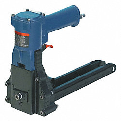 Air Hand Clinch Stapler, Stick, 1-3/8 In