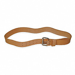 Work Belt, HD, Leather, 46-52 In