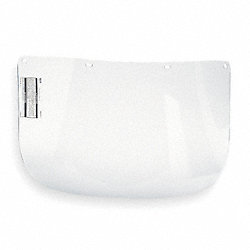 Faceshield Visor, Polycarb, Clr, 8x15-1/2in