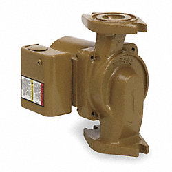 Circulator Pump, 1/25 HP, Noryl Impeller