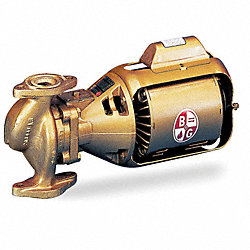 Circulator Pump, 1/6 HP, Bronze Impeller