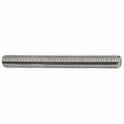 Threaded Rod, 304 SS, 1-14, 6 Ft L