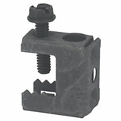 Beam Clamp, Threaded 1/4 In Hole Size