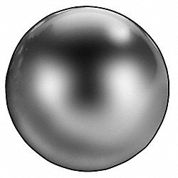 Precision Ball, Chrome, 3/8 In, Pk 50