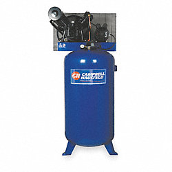 Air Compressor, 5HP, 80Gal, 175 PSI, 13.7CFM