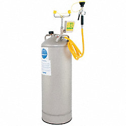 Portable Eye Wash w/ Drench Hose, 15 gal.