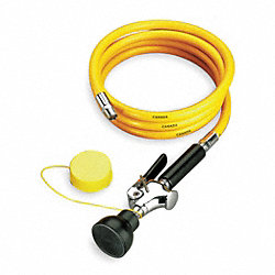 Single Head Drench Hose, Wall Mount, 8 ft.