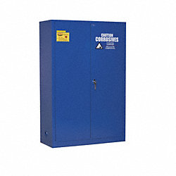 Corrosive Safety Cabinet, Blue, 43 In. W