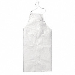 Disposable Bib Apron, White, PK 100