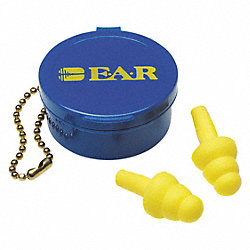 Ear Plugs, 25dB, w/o Cord, Univ, PR