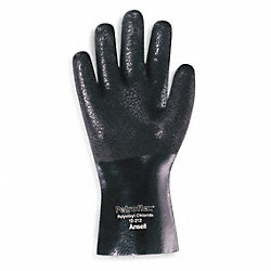 Chemical Resistant Glove, PVC, 10