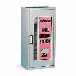 Spill Kit, Wall Mounted Cabinet, HazMat