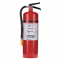 Fire Extinguisher, Dry Chemical
