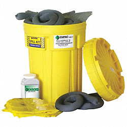 Spill Kit, Can, 23 gal. , Universal