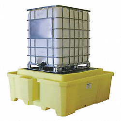 IBC Containment Unit, 29-1/2 In. H, Yellow