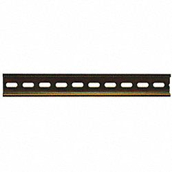 Din Rail Bracket, 1 to 10, Aluminum, 10 In