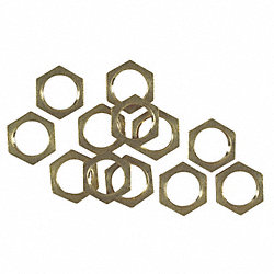 Hex Nuts, Tapped 1/8-IP, PK 12