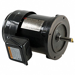 Mtr, 3 Ph, 1/2hp, 1705, 208-230/460, Eff 73.5