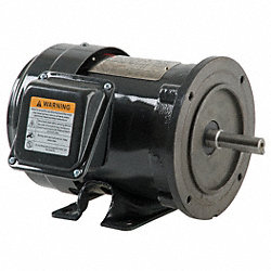 Mtr, 3 Ph, 1.5hp, 1740, 208-230/460, Eff 81.5