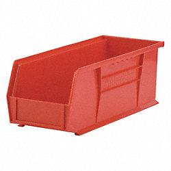 Stack & Hang Bin, 14-3/4 x 5-1/2 x 5, Red