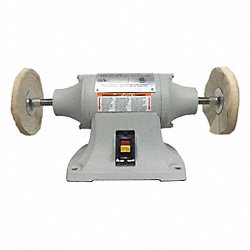 Buffer, 1/2 Hp, 3450 RPM, 115 V