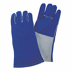 Welding Gloves, Welding, 14In., L, PR