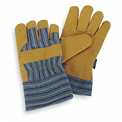 Cold Protection Gloves, L, Gold Yellow, PR